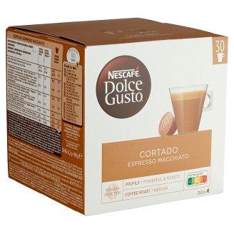 Nescafé Dolce Gusto Cortado Espresso Macchiato Whole Milk Powder with Instant Coffee 30 pcs 189 g