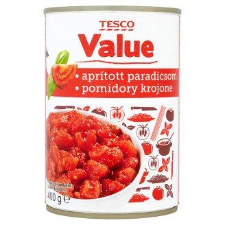 Tesco aprított paradicsom paradicsomszószban 400 g
