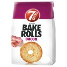 7DAYS Bake Rolls Bread Crisps with Bacon Flavour 80 g