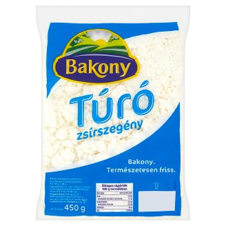 Bakony Low-Fat Cottage Cheese 450 g