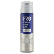 Tesco Pro Formula For Men Sensitive Shaving Foam 250 ml
