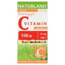 Naturland Vitalstar Vitamin C Orange Flavoured Food Supplement Chewable Tablet for Kids 100 pcs 89 g