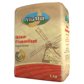 VitaMill Fine Wheat Flour with Wheat Germ 1 kg