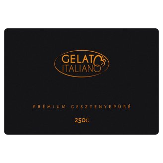 Gelato Italiano Premium Quick-Frozen Chestnut Puree 250 g