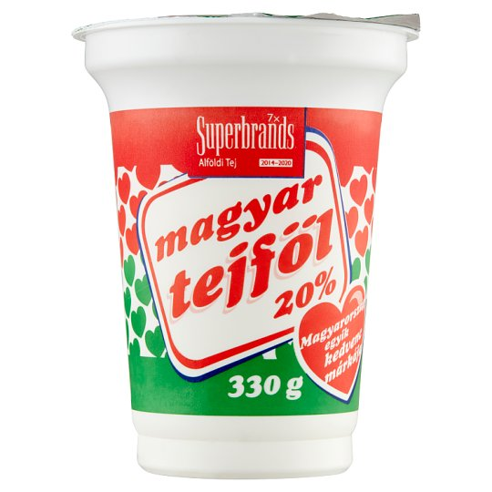 Magyar Tejföl 20% Sour Cream 330 g