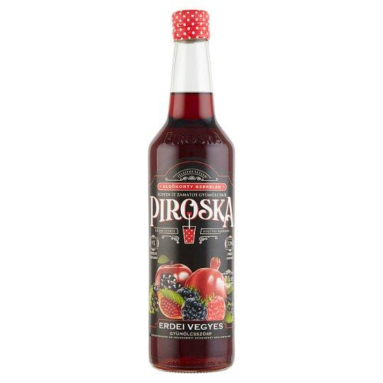 Piroska Forest Fruit Mix Sirup 0,7 l