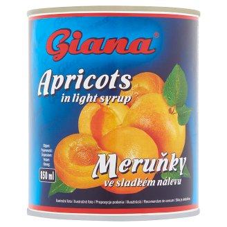 Giana sárgabarack enyhén cukrozott lében 840 g