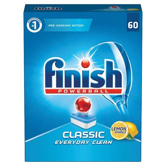 Finish Classic Lemon Dishwasher Tablets 60 pcs