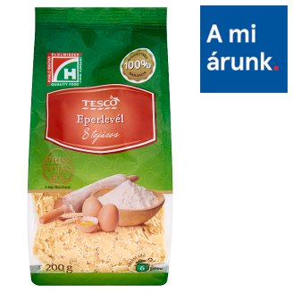 Tesco Strawberry Leaf Dry Pasta with 8 Eggs 200 g
