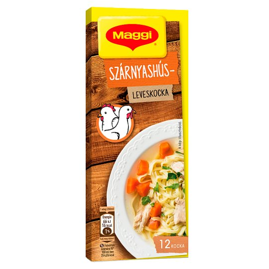 Maggi Poultry Stock Cube 132 g