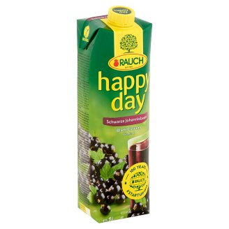 Rauch Happy Day Black Currant Nectar with Vitamin C 1 l