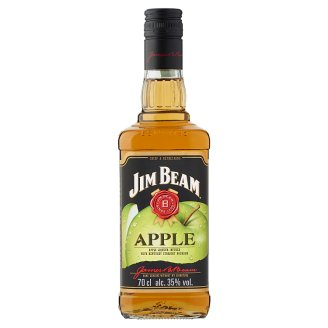 Jim Beam Apple Flavoured Bourbon Whiskey-Based Liqueur 35% 0,7 l