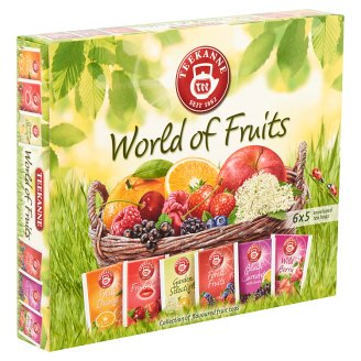 Teekanne World of Fruits Tea Mix 6 x 5 Tea Bags 70 g