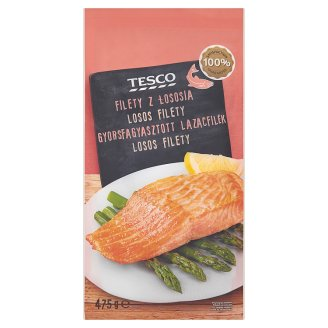 Tesco Quick-Frozen Salmon Fillet 475 g