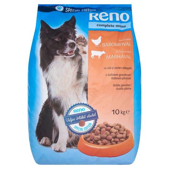 Reno Special Edition Száraz teljes értékű eledel felnőtt kutyák számára marhával és baromfival 10 kg