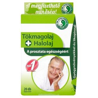 Dr. Chen Patika tökmagolaj és halolaj étrend-kiegészítő kapszula 20 db 28 g