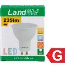 Landlite 240 lm 4 W GU10 LED izzó