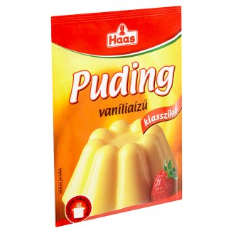 Haas Klasszikus vaníliaízű pudingpor 40 g