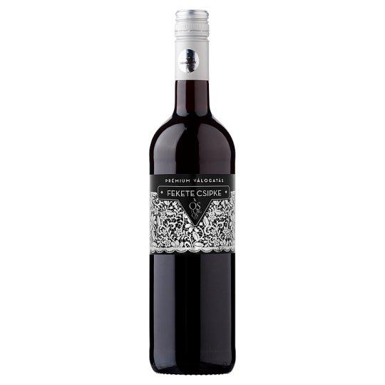 Ostorosbor Fekete Csipke Egri Kékfrankos száraz vörösbor 12,5% 750 ml