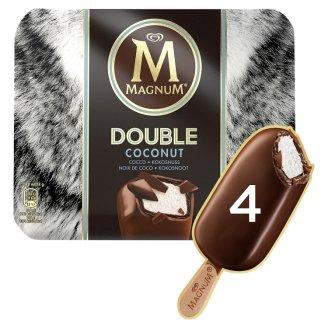 Magnum Double Coconut kókuszos jégkrém kakaós bevonóval 4 db 352 ml