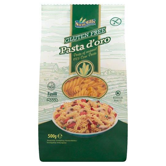 Sam Mills Pasta d'oro Spirál gluténmentes tészta kukoricából 500 g