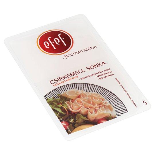 eFeF szeletelt leheletvékony csirkemell sonka 200 g