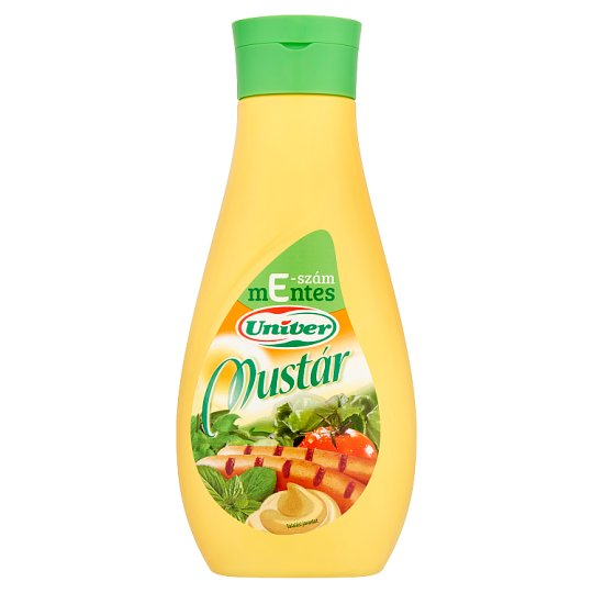 Univer Mustard 640 g