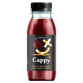 Cappy Plus Antiox Fruit & Veggie Juice with Red Beet + Vitamin E 250 ml