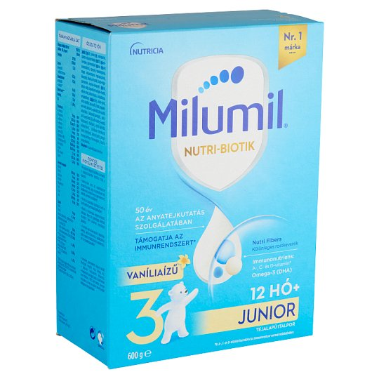 Milumil Junior 1+ Vanilla Flavoured Kids Drink 1+ Years 600 g
