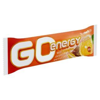 BioTechUSA Go Energy narancs ízű szelet csokoládé bevonattal, narancs zselével és gyümölcsökkel 40 g