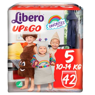 Libero Up&Go 5 10-14 kg Nappies 42 pcs
