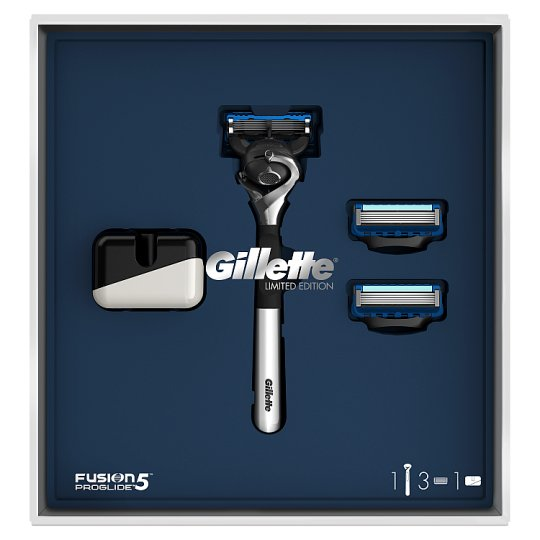 Gillette Fusion5 ProGlide Borotvacsomag + 2 Borotvabetét + Tartó