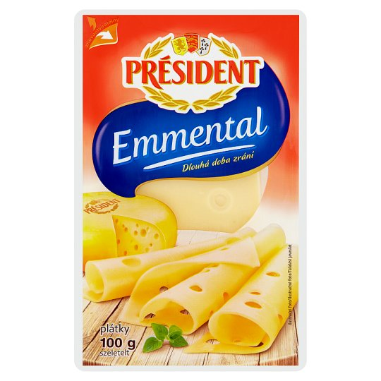 Président Emmental Sliced Cheese 100 g