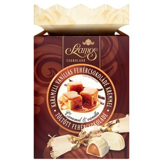 Szamos Praline Christmas Candies with Caramel and Vanilla Flavoured White Chocolate Filling 250 g