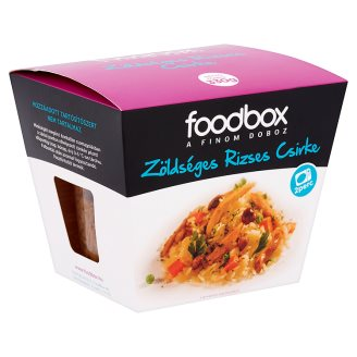 Foodbox Chicken with Vegetables and Rice 330 g