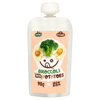 Ovko BIO brokkoli püré burgonyával 6 hónapos kortól 90 g