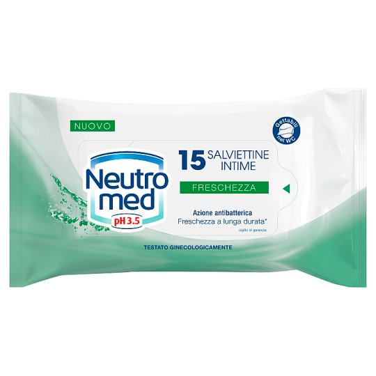 Neutromed Intimate Wipes 15 pcs