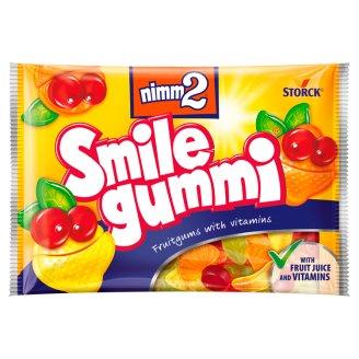 nimm2 Smilegummi vegyes gyümölcs ízű gumicukorka vitaminokkal 100 g
