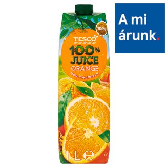 Tesco 100% Orange Juice 1 l
