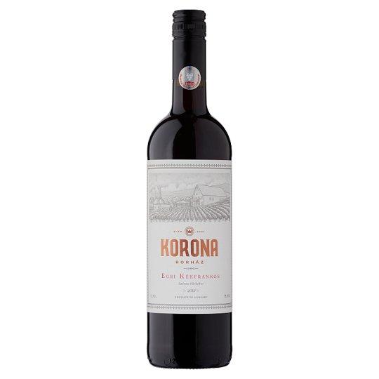 Egri Korona Borház Egri Kékfrankos száraz vörösbor 13% 750 ml