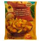 Tesco Quick-Frozen Pre-Fried Spicy Wedges 750 g