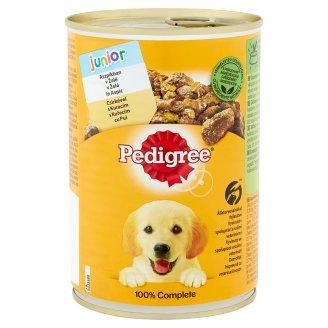 Pedigree Junior teljes értékű állateledel kölyökkutyáknak csirkehússal aszpikban 400 g