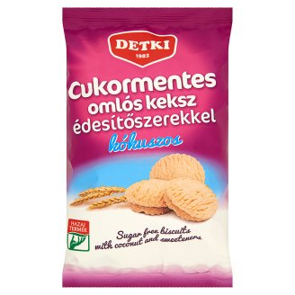 Detki Sugar-Free Biscuits with Coconut and Sweeteners 180 g