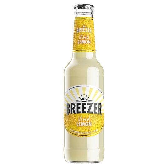 Bacardi Breezer Lemon alkoholos szénsavas citrom ízű frissítő ital 4% 275 ml