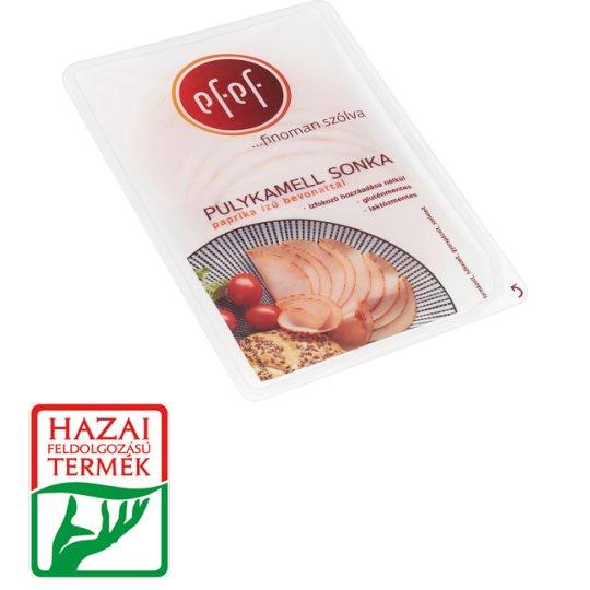 eFeF Sliced Turkey Breast Ham in Paprika Flavoured Coating 90 g