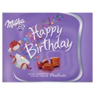 Milka Happy Birthday Sour Cherry Flavoured Alpine Milk Chocolate Praline with Cocoa Cream 110 g