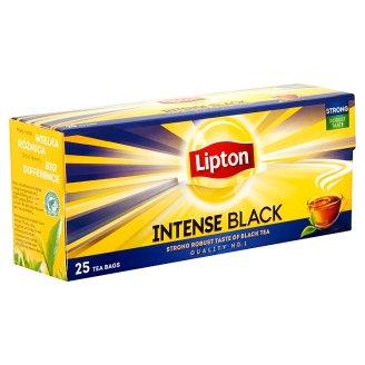 Lipton Intense Black fekete tea 25 filter