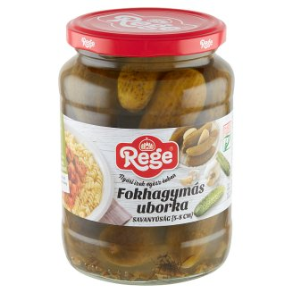 Rege Pickled Gherkin with Garlic 5-8 cm 680 g