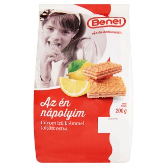 Benei Lemon Cream Filled Wafer 200 g