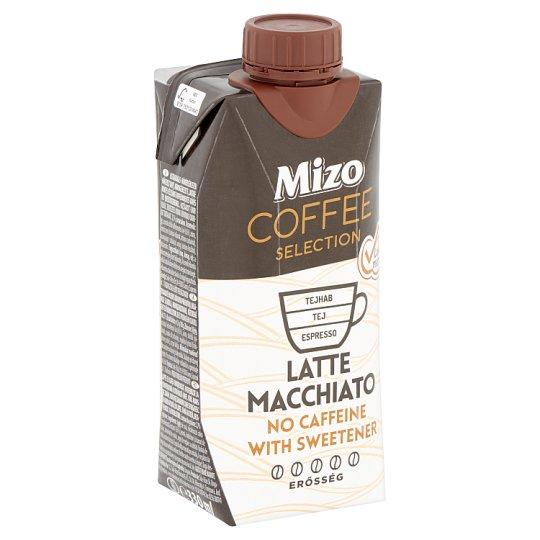 Mizo Coffee Selection Latte Macchiato UHT Lactose-, Caffeine-Free Coffee Milk with Sweeteners 330 ml